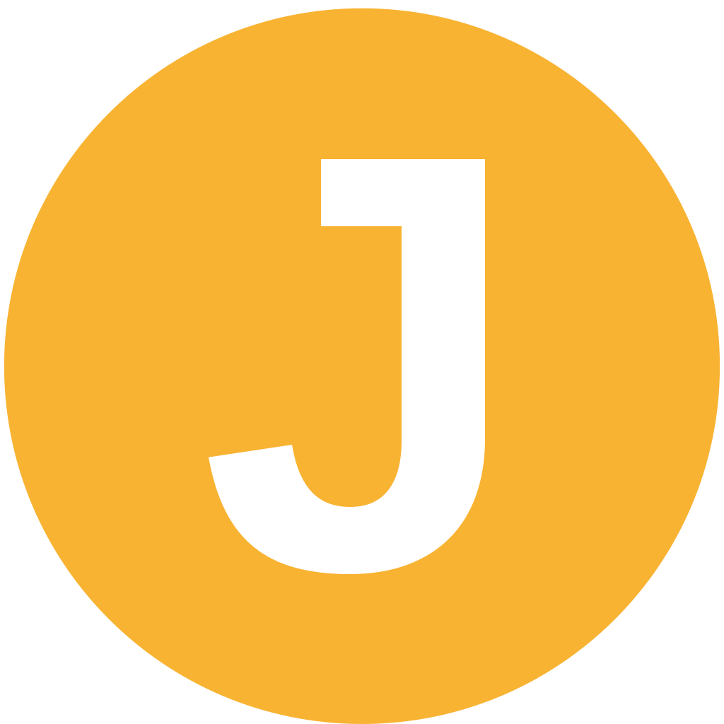 Letter J Intial